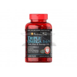 P.P :Maximum Strength Triple Omega 3-6-9