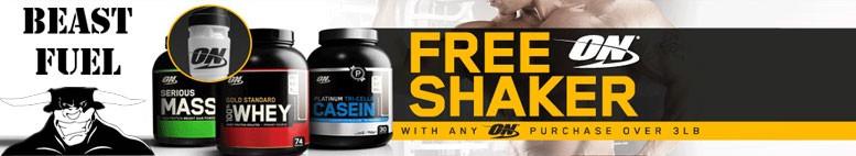 Free Shaker Offer